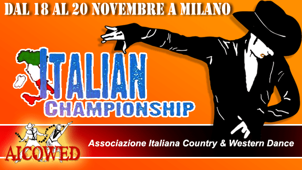 4° CAMPIONATO ITALIANO DI COUNTRY & WESTERN DANCE