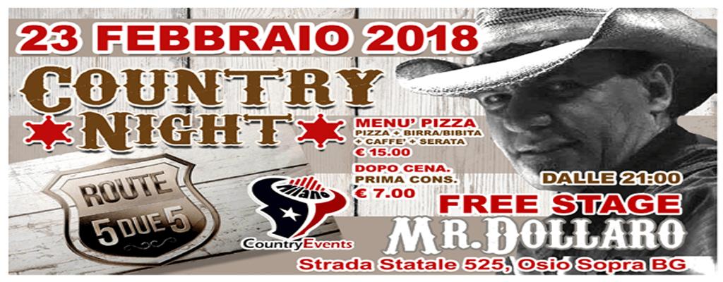 525 SITO1 - EVENTI COUNTRY: Giovedì Country Night allo Spazio Epoca Milano