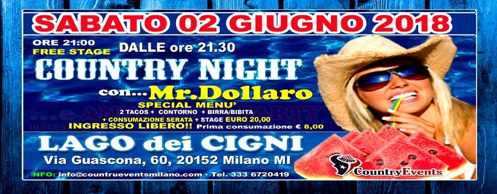 LAGODEICIGNI SITO2 - EVENTI COUNTRY: Tutti i Giovedì Country Night allo Spazio Epoca Milano
