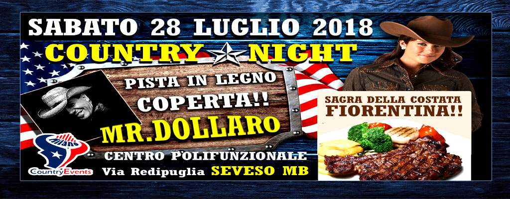 SEVESO SITO - EVENTI COUNTRY: Country Night al Gatto Nero di Merate LC