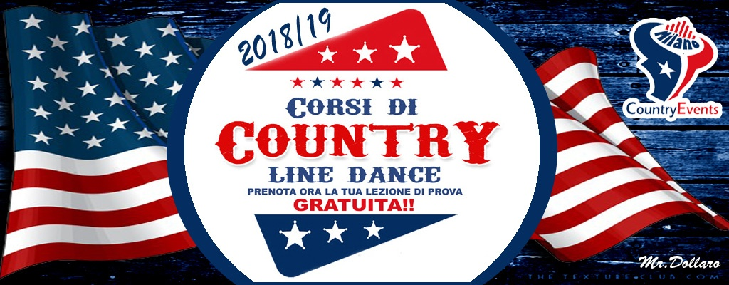 CORSI COUNTRY LINE DANCE - CONCERTI COUNTRY: Michael Peterson al The River Saloon di Lodi