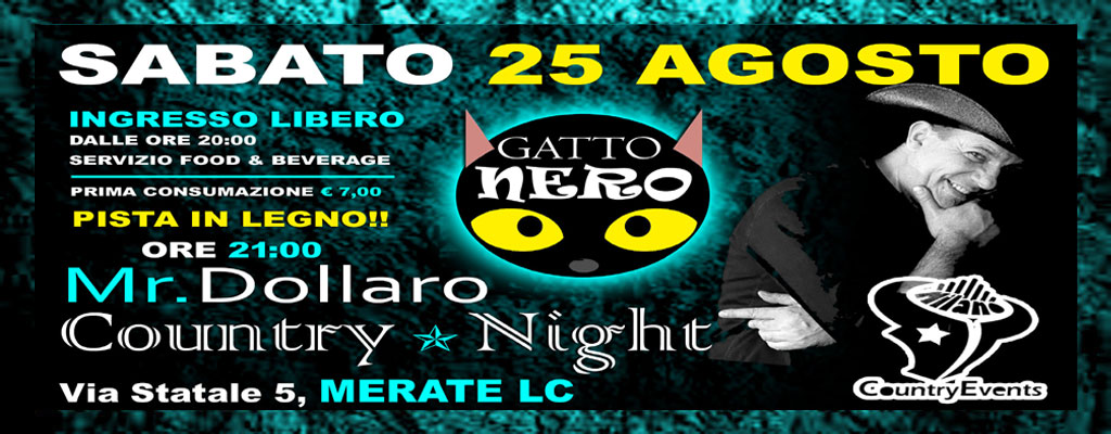 GATTONERO SITO 2 - CONCERTI COUNTRY: Michael Peterson al The River Saloon di Lodi